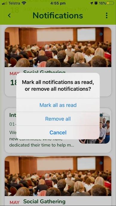 Notification Marking